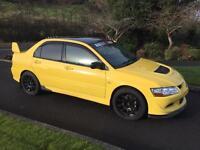 Evo 8 UK GSR 260 Rare Yellow