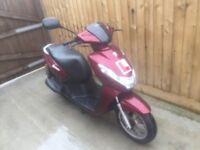 peugeot kisbee scooter 50cc