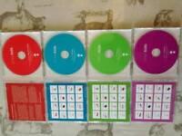 Nursery Ryhmes CD set (4 box)