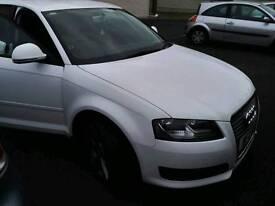Audi a3 sportsback white 1.6 tdi