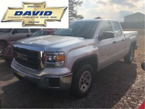 2015 GMC Sierra 1500 1SA DCAB 2WD 6.5FT BOX/ LOADED/ VINYL FLOOR