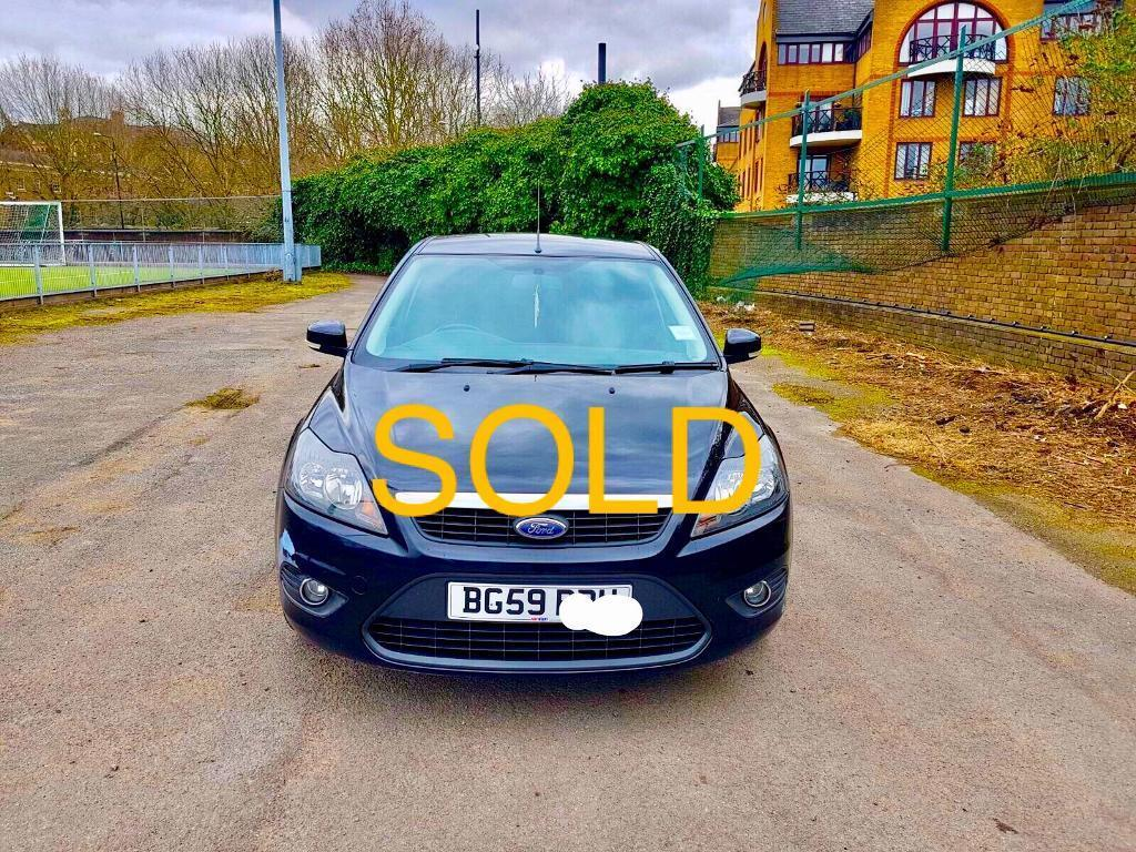 2009 FORD FOCUS 1.6 ZETEC MANUAL HPI CLEAR/FULL SERVICE HISTORY And MOT call 07507 703660