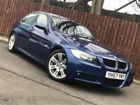 **M SPORT** BMW 320D SALOON LOW MILEAGE LONG MOT