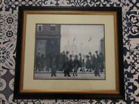 LS Lowry framed print