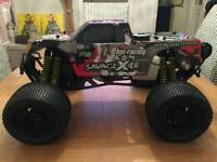 Hpi savage rc nitro monster truck may swap