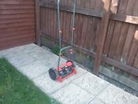 Push along mower used once £20