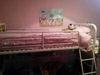 Childs mid sleeper bed Frame.