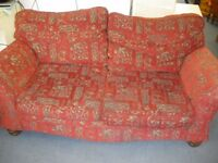 BIG RED SOFA