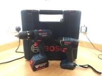 [NEW/UNUSED] 18v Bosch drill and impact driver