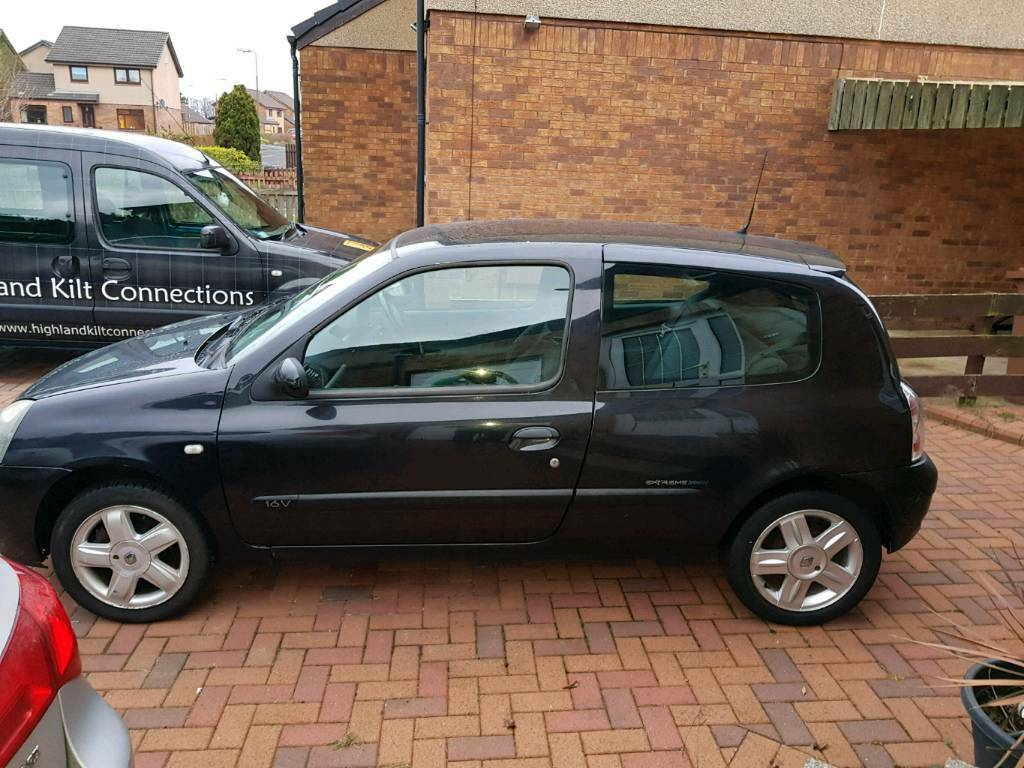 renault clio 2004 in livingston west lothian gumtree. Black Bedroom Furniture Sets. Home Design Ideas