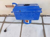 I am selling an old fashion high level cast iron toilet cistern and chain in full working order