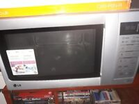Microwave/ combi oven LG Silver
