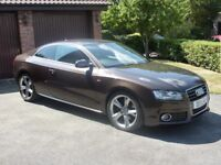 REDUCED FOR QUICK SALE Audi A5 2.0 T FSI S-Line Special Edition Coupe Auto , Ex cond amazing spec