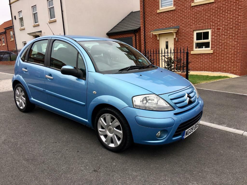 citroen c3 1 6 hdi 16v 2009 exclusive 5dr only 79k miles 1 previous owner beautiful condition. Black Bedroom Furniture Sets. Home Design Ideas