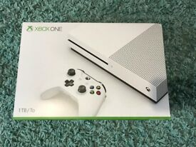 xbox one s 1tb console, 2 games ,everything brand new & sealed , 12 months warranty ! PRICE STANDS !
