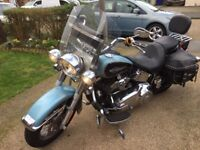 Harley Davidson Softail Heritage for sale or Part Ex for Softail Chopper