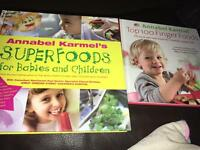 FREE - 2 x baby/toddler weaning books