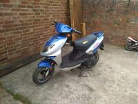 Twist and go 50cc scooter 09 reg spears or repair eastbourne £50 ideal feild bike