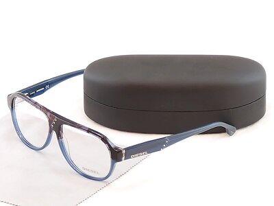 Authentic Diesel Eyeglasses Frame DL5003 050 Plastic Black Blue Top Quality