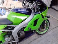 1998 Kawasaki zz-r 600 ninja