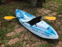 kayak ocean sit on kayak single