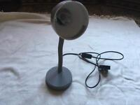 Eco halogen table lamp used good working £4 electric