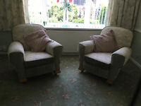 Set of 2 armchairs - quite solid and in good condition