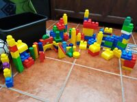 Childrens building blocks.