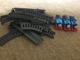 Thomas tracks and 3 engines