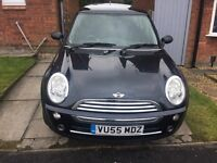 LOOK - MINI ONE 1.6 - 2005 (55 plate) - 98 BHP - METALIC BLACK - VERY GOOD CONDITION -