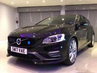 VOLVO V60 2.0 T6 POLESTAR AWD 5d AUTO 363 BHP FREE DELIVERY TO YOUR DOOR (black) 2017