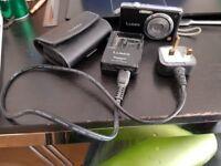 Panasonic Lumix 12MP Camera with strap and case