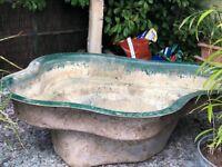 FREE - large fibreglass Pond - FREE
