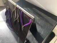 Magnetic kitchen worktop Rack or Tool Rack