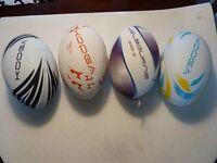 4 x Brand New Kooga Size 5 Rugby Balls