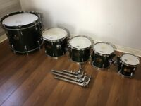 PEARL MASTERS CUSTOM MAPLE (fusion size) - awesome, high-end drum set! BIG SET! Covers included.