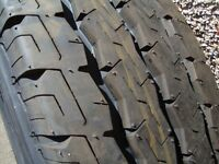 BRAND NEW FORD TRANSIT WHEEL AND NEW FIRESTONE TYRE SIZE 215/75/16 ONLY £60 FOR QUICK SALE