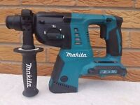 MAKITA DHR263 TWIN 18v , 36v LXT LI-ION SDS DRILL 3 mode.(BODY ONLY).