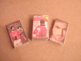 Manchester United - Cantona Video tapes
