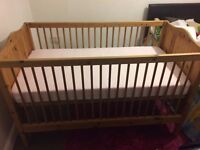 Toddler cot Bed for sale, Price £35