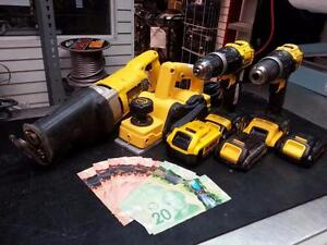 $$$ CASH For Tools. Instant CASH LOANS on Tool and Accessories. Busters Pawn $$$