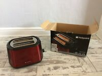 Red Hotpoint Toaster