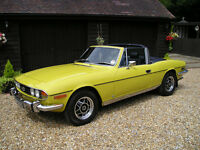 Triumph stag parts wanted or complete car considered for spares or repair