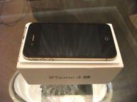 Apple Iphone 4S Black 32GB Unlocked