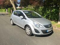 Vauxhall Corsa 2012 5 door £0 tax!!