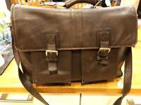 Hidesign large messenger bag leather