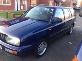 VW Golf estate 1.9 Diesel low miles swap for Beetle