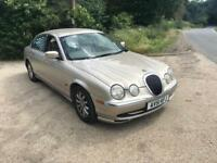 JAGUAR S TYPE 2.5 2001 AUTOMATIC 1 YEAR MOT FULL LEATHER DRIVES THE BEST