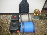 Aqua Roll ,Waste Hog and containers