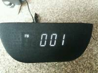 AudioSonic Bluetooth Clock Radio Speaker